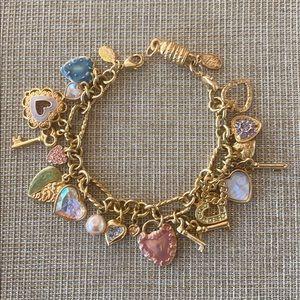 Vintage Charms Bracelet